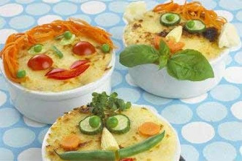 Mini fish pie faces recipe - goodtoknow
