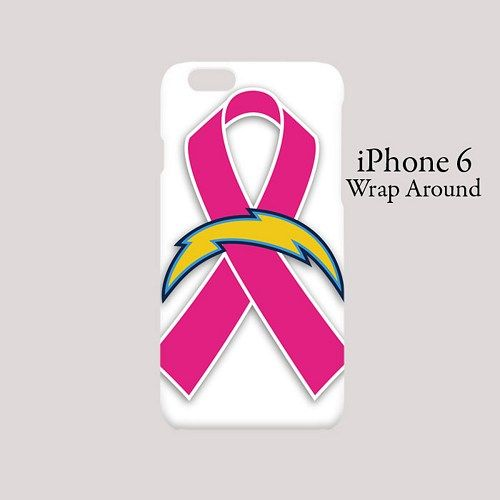 San Diego Chargers Pink Ribbons Case for iPhone 6/6s