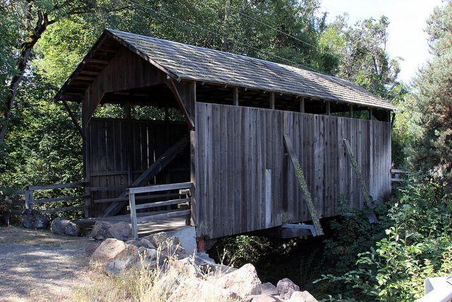 Lost Creek covered bridge   Flickr - Photo Sharing!