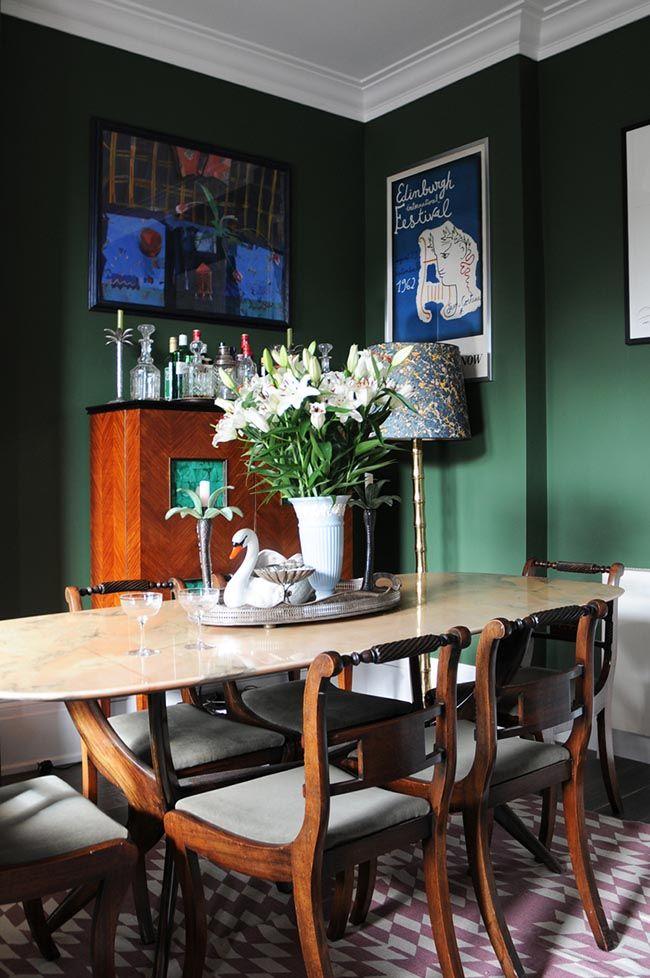 Color Inspiration: Bold And Brilliant Emerald Green | Design*Sponge