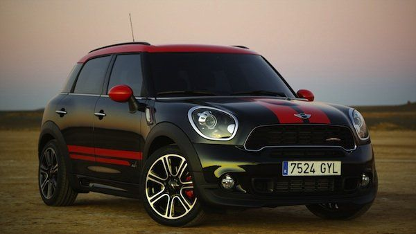 Introducing the New MINI John Cooper Works Countryman. All the Power. All the Fun. 4 door All wheel drive.