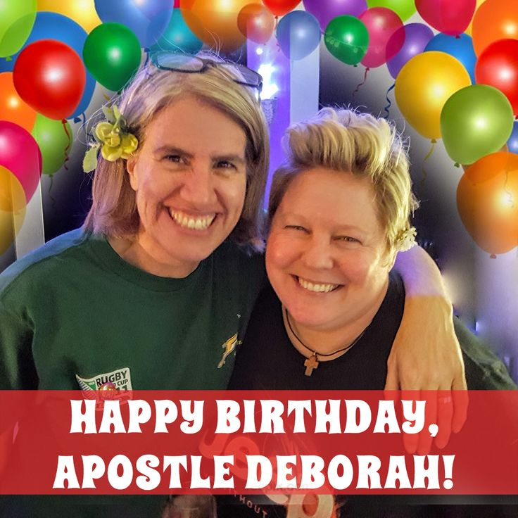 Today, we wish our Lead Pastor, Apostle Deborah Bell, a happy and blessed birthday! With love from your DGFC family. #birthday #apostle #lgbt #love #bestwishes