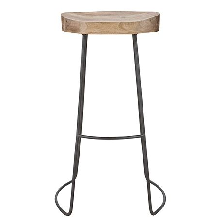 Tractor Stool 75cm  Natural