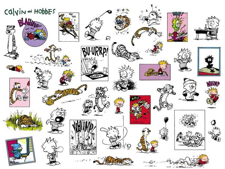 These are reasons why I think Calvin and Hobbes are just AWESOME!