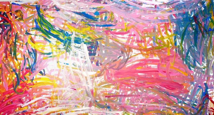 Emily Kame Kngwarreye  Synthetic polymer paint on Belgian linen  230 x 165 cm  $120,000 AUD