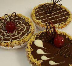 O Quiche de Chocolate é uma deliciosa torta feita com Doce de Leite com chocolate.