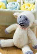 Knit Lamb-----free pattern but you must register at site first