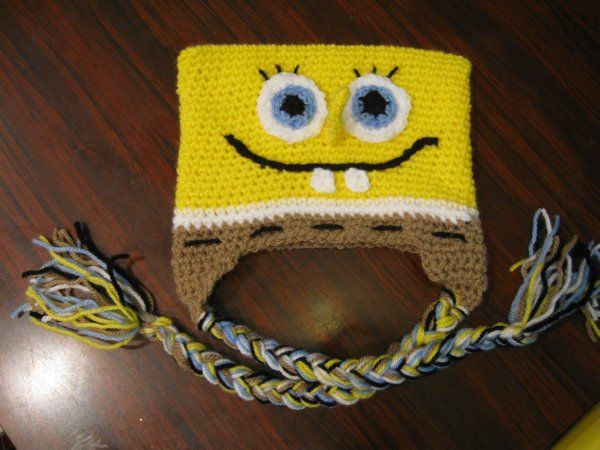 Your place to learn how to Make The Bob the Sponge Beanie for FREE. by Meladora's Creations - Free Crochet Patterns and Video Tutorials