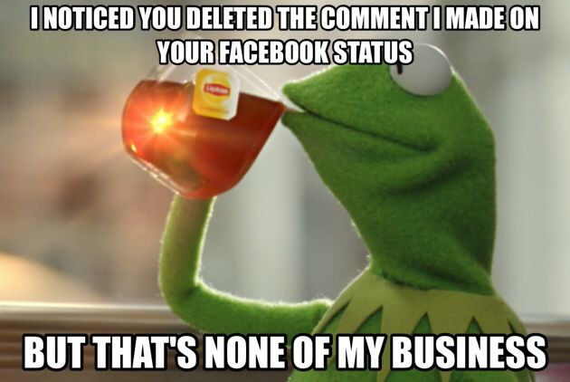 The Best Of The That S None Of My Business Kermit Meme: 17 Best Images About That's None Of My Business.. On