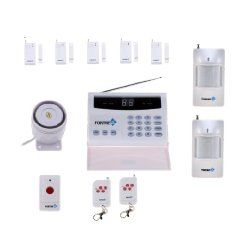 Fortress Security Store (TM) S02-A Wireless Home Security Alarm System DIY Kit Auto Dial