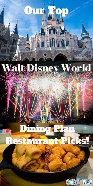 Our Picks For The Best Disney World Dining Plan Restaurants