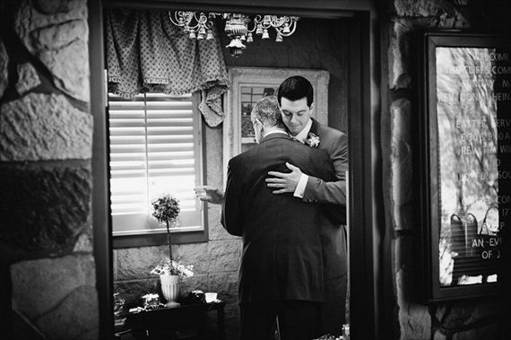18 Best Getting Ready Photos: groom and his dad (photo by derek olson of fete…