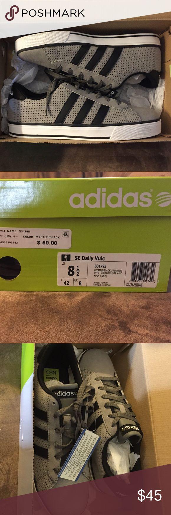 Men's Adidas Neo Sneaker Brand New Men's Adidas Neo SE Daily Vulc Sneaker adidas Shoes Sneakers