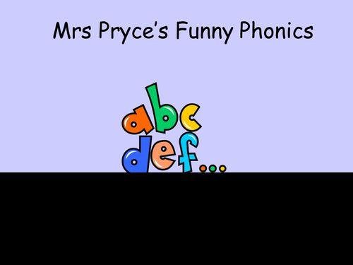 Mrs Pryce's phonics-ee, ey..