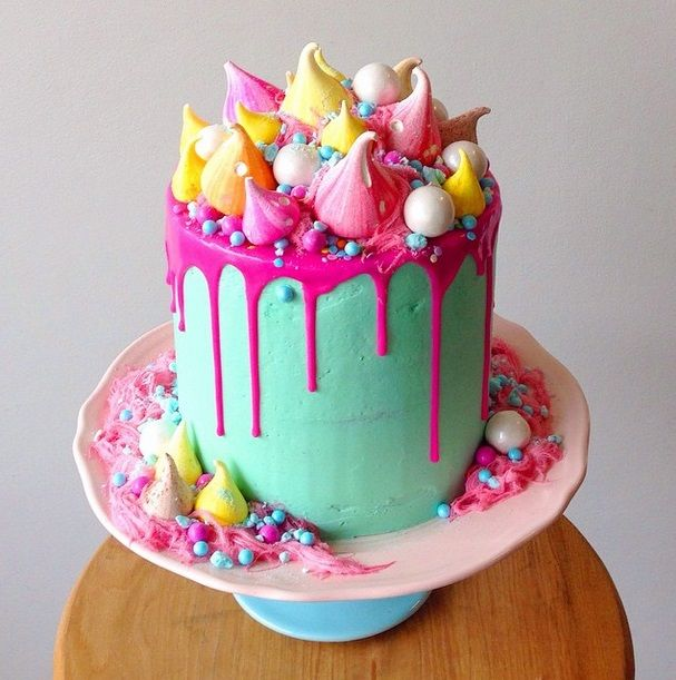La mode du gâteau «bordélique» ou l'art de la dégoulinade