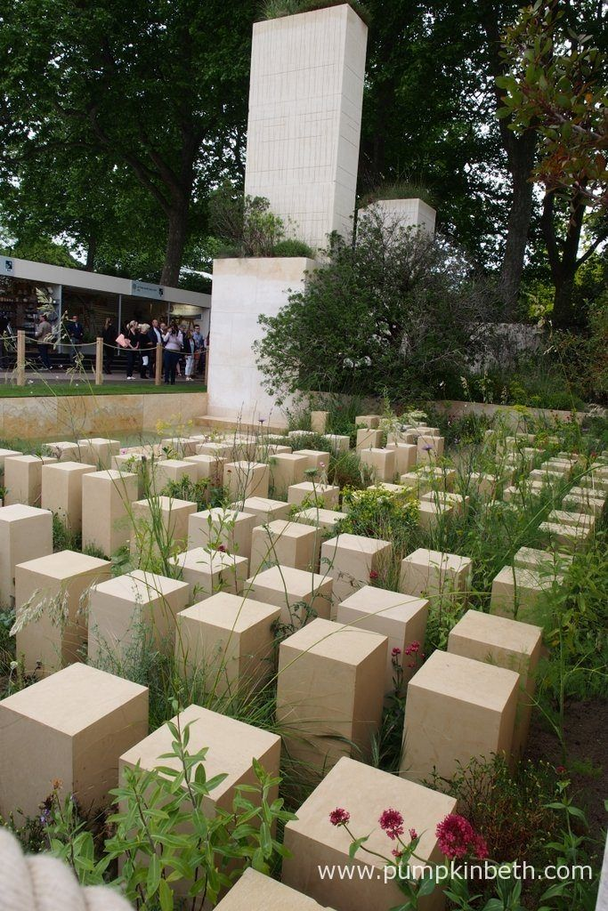 The M&G Garden, designed by James Basson, for the RHS Chelsea Flower Show 2017.