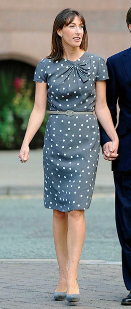 <strong>SAMANTHA CAMERON</strong> <p><strong>OCCUPATION:</strong> First Lady, U.K.