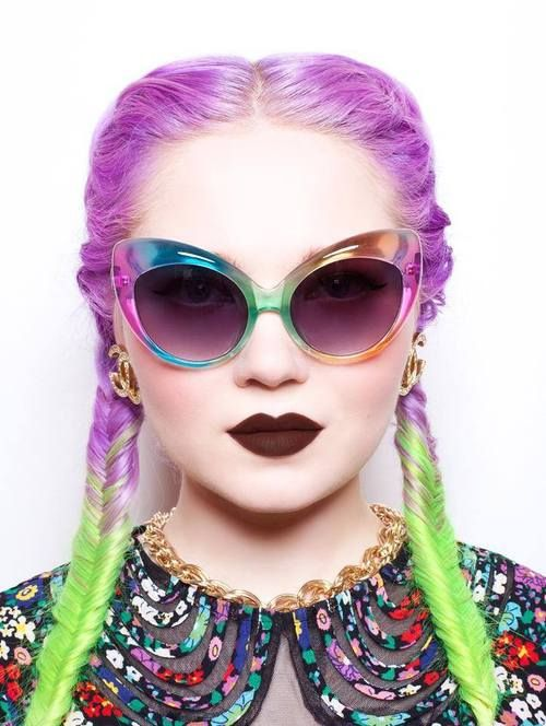 pastel-goth-princess:  Doe Deere, wearing Salem and UNIF sunglasses #vigorelle