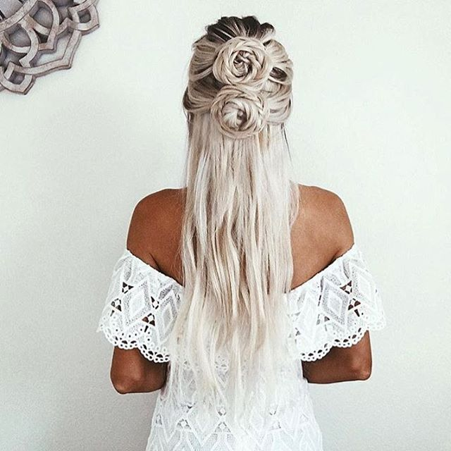 Kendall Dress | #SaboSkirt Boho dresses just wouldn't be complete without braids @emilyrosehannon