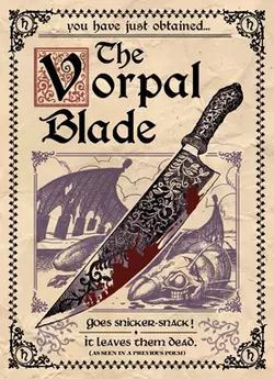 Vorpal Blade poster American McGee's Alice 2