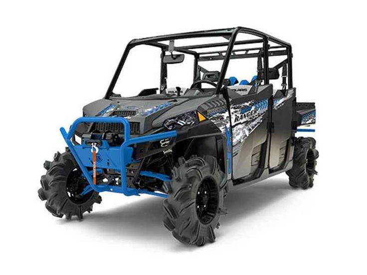 New 2017 Polaris RANGER CREW XP 1000 EPS High Lifter Edit ATVs For Sale in North Carolina.