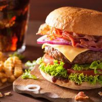 Red Robin's Copycat Bacon Cheeseburger                                                                                                                                                                                 More