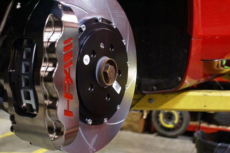 Specialty order - nickel plated brakes