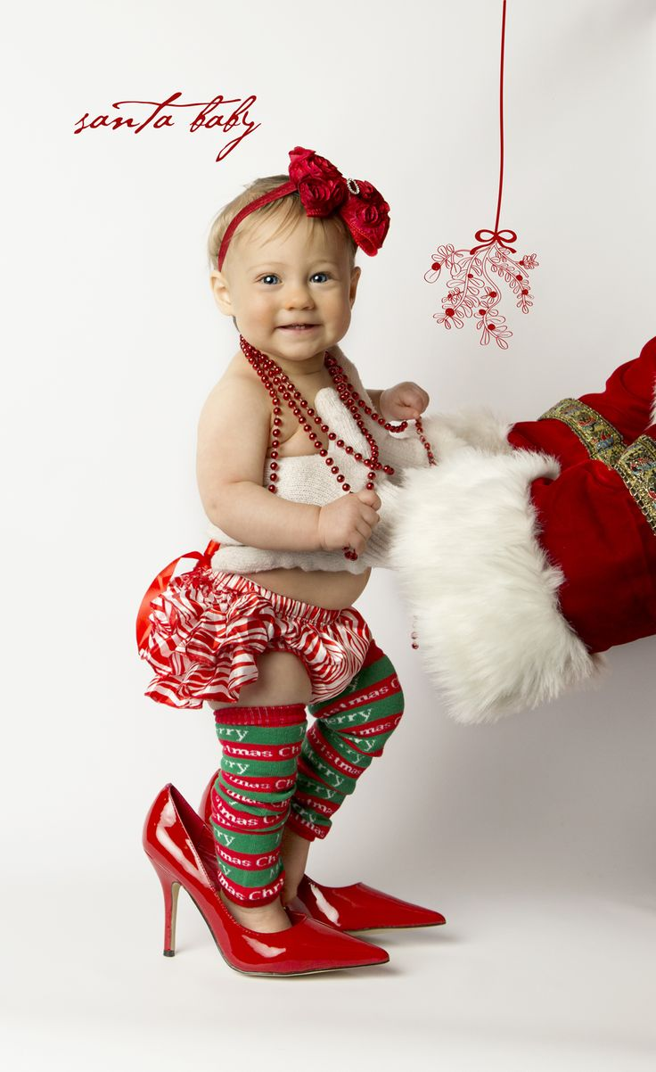 33 best Baby Christmas portraits images on Pinterest   Christmas ...
