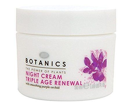 BOOTS Botanics Triple Age Renewal Night Cream Review