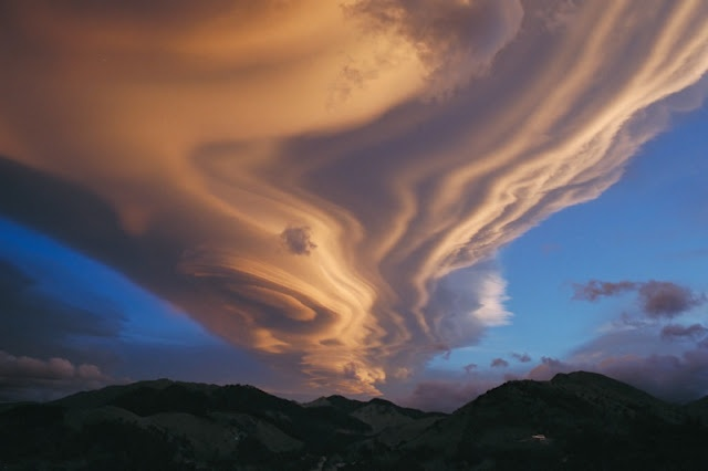 cloudsMountain, Elizabeth Taylors, Starry Night, Lenticular Clouds, Earth, Nature Phenomena, The Waves, Night Sky, New Zealand