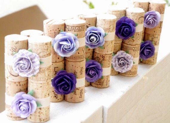 Recicla i tappi per creare bellissimi segnaposti per il tuo matrimonio