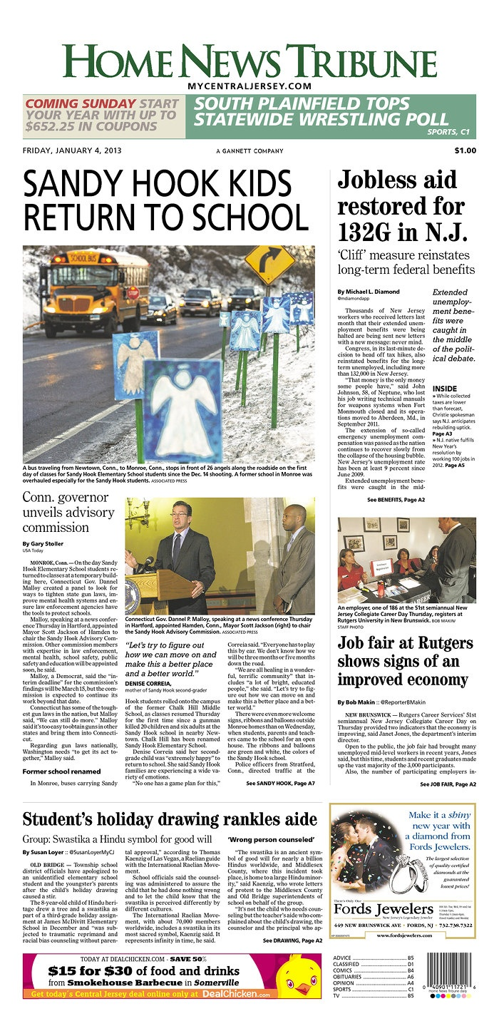 Home News Tribune Published In East Brunswick New Jersey Usa South Plainfield Middlesex County