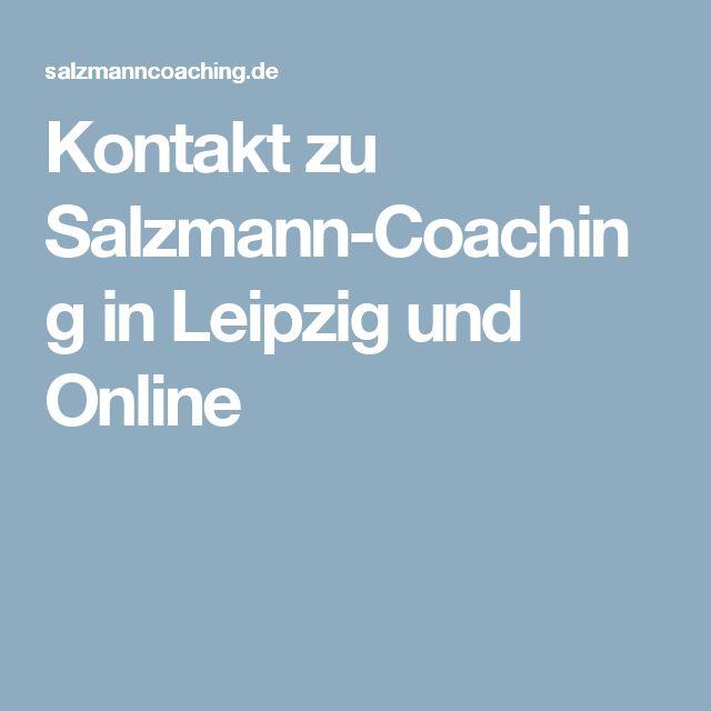 Kontakt zu Salzmann-Coaching in Leipzig und Online