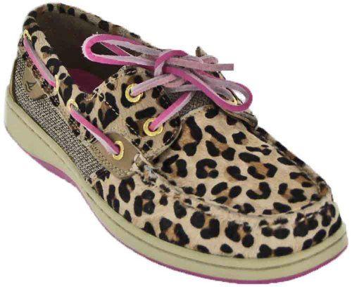 Pink Leopard Print Shoe Laces