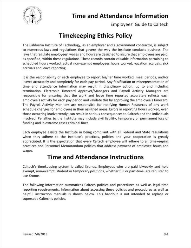 work hours and reporting policy policytemplates work hours and reporting policy templates businesspolicytemplates