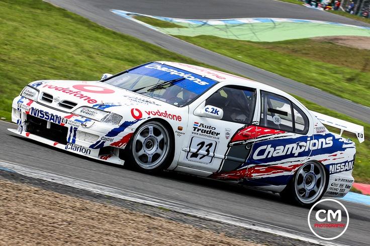1999 Championship winning BTCC Nissan Primera of the late great David Leslie