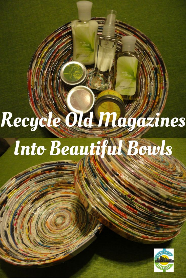 Crayon melting art images amp pictures becuo - Recycle Old Magazines Into Beautiful Bowls