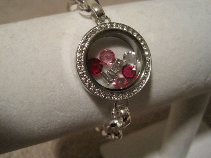 "Origami Owl Valentine's Day ""love"" bracelet. http://andielong.origamiowl.com"