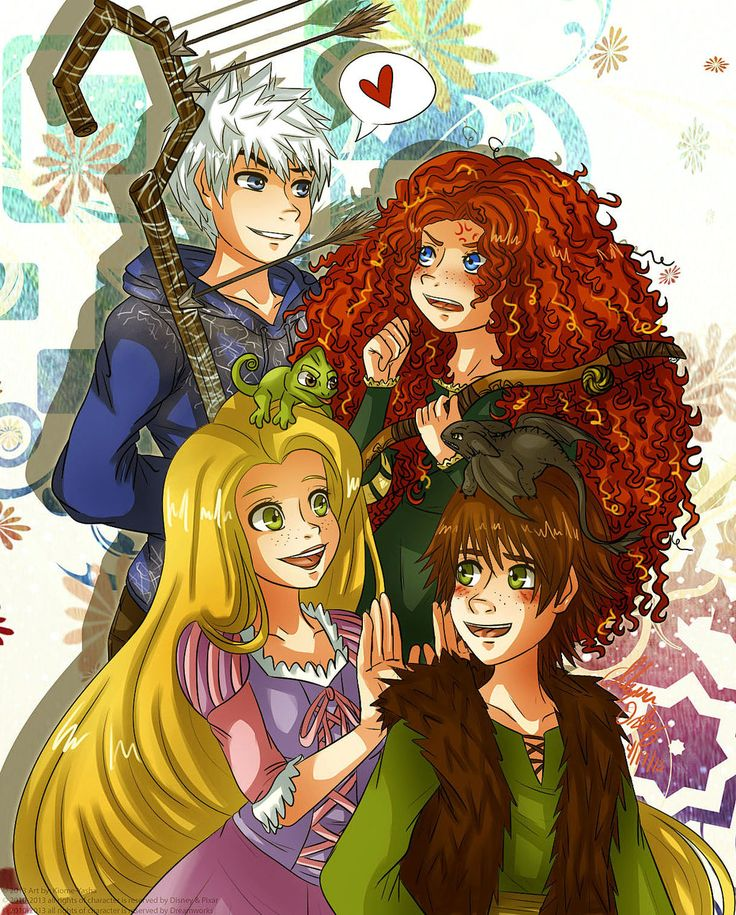 The Big Four:Blushes by Kiome-Yasha.deviantart.com on @deviantART