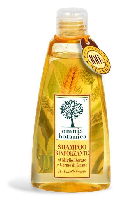Shampoo rinforzante al Miglio e Germe di Grano @ Omnia Botanica – Cosmesi 100% naturale