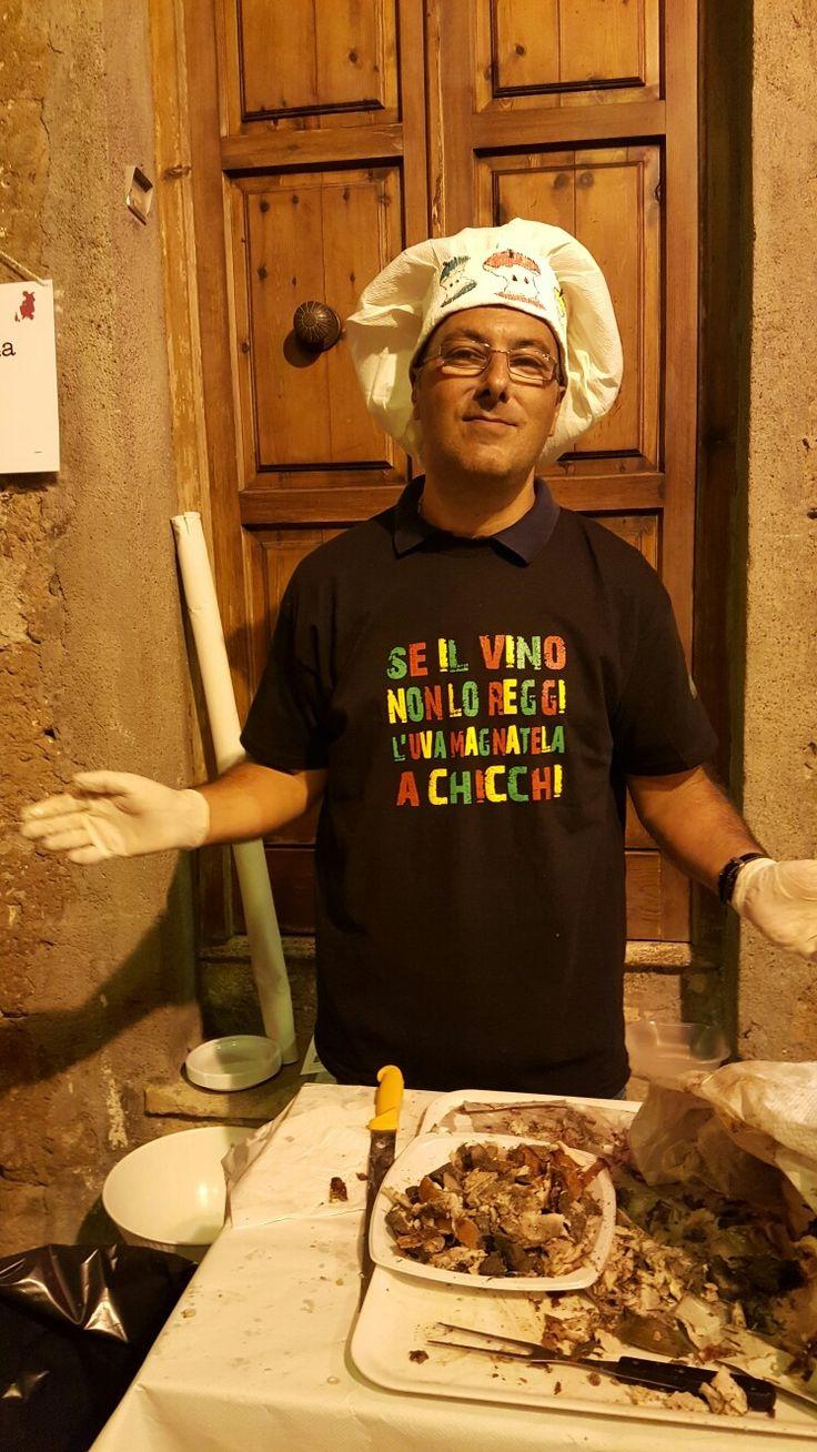 E la gioia sia con voi! #SettembreDivino #festadellecantine2016 #Pitigliano #Maremma #Tuscany #maremmawines