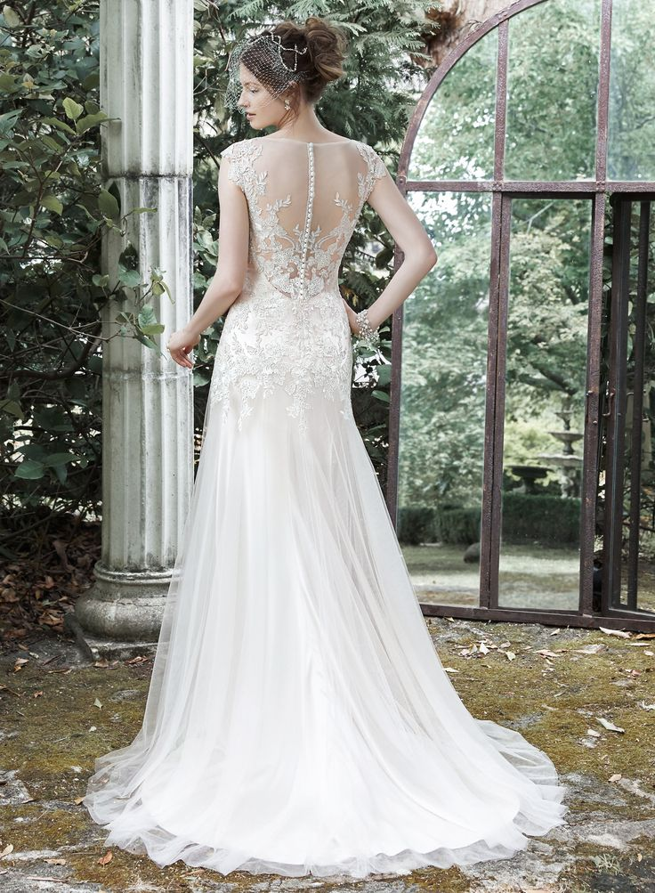 831 best MAGGIE SOTTERO images on Pinterest   Short wedding gowns ...