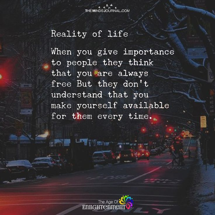Reality Of Life - https://themindsjournal.com/reality-of-life-2/