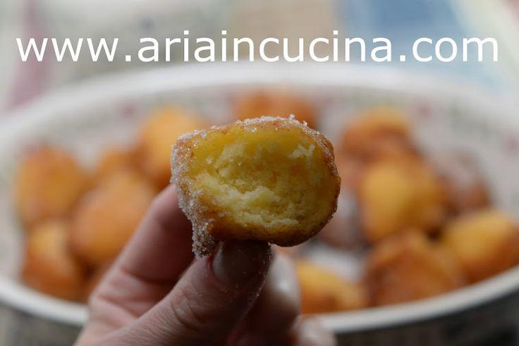 Blog di cucina di Aria: Frittelle di ricotta...e piccole donne crescono ;)
