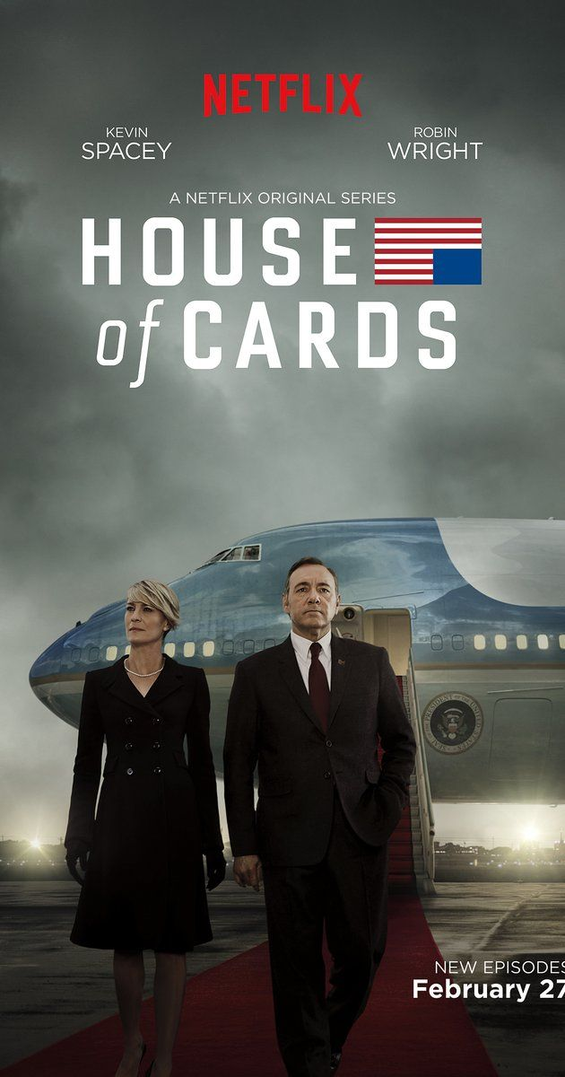 With Kevin Spacey, Michel Gill, Robin Wright, Kate Mara. A Congressman works with his equally conniving wife to exact revenge on the people who betrayed him.