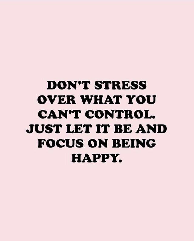 don\'t stress | Words quotes, Quotes, Positive quotes