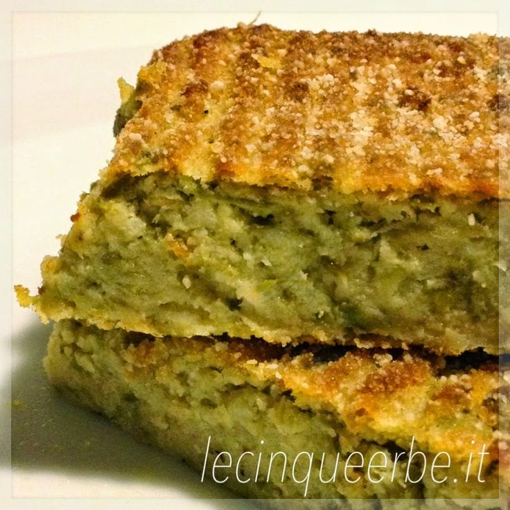 Ricette Liguri - Liguria in Cucina - Cucinare in Liguria - Ricetta Vegetariana - Polpettone di Fagiolini