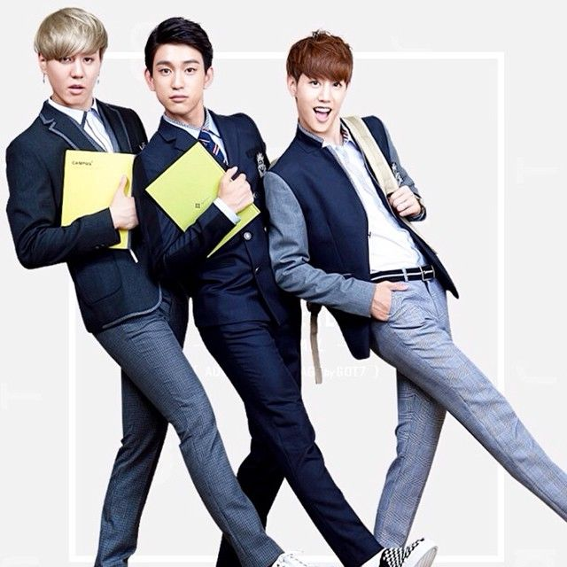 Yugyeom, Jr, Mark - SMART Uniforms