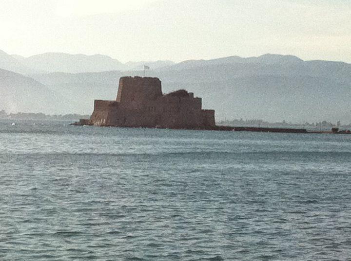 "Castle ""Bourtzi"" στην πόλη Ναύπλιο, Αργολίδα"