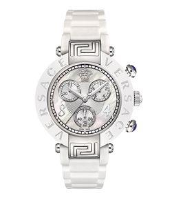 Versace Versace: Reve Mother Of Pearl 39mm Watch